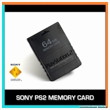 SONY PLAYSTATION 2 PS2 OEM MEMORY CARD - 8MB/16MB/32MB/64MB/128MB
