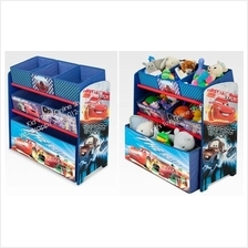 Disney Storage Rack With 6 Bins, Car