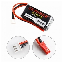 2S 7.4v 1000mAh Lipo Battery RC Toy Helicopter Quadcopter Car Boat