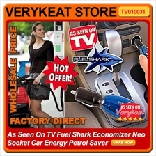 As Seen On TV Fuel Shark Economizer Neo Socket Car Energy Petrol Saver