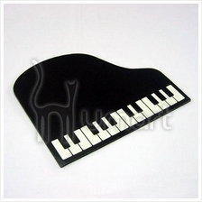 Music Classic Piano Shaped Mouse Pad
