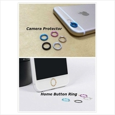 Premium Camera Home button ring protector for iPhone 6 6S Plus
