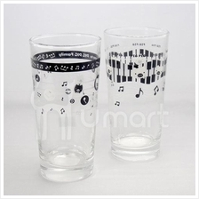 Music Notes Sweet Little Pig Big Glass