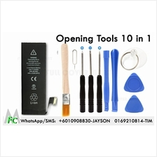 iPhone 6 Plus 5 5S 4 4S Opening Repair Tools Kit 10 in 1 And Battery