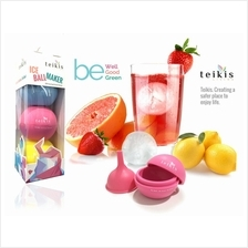 Set of 3 Teikis Ice Ball Maker + Funnel