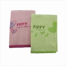 Fiffy Baby Bath Towel 100% cotton (2 PC Value Pack ) - A98860