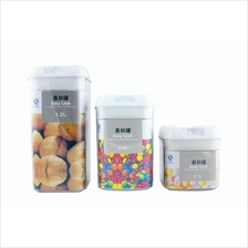 Easy Lock Airtight Containers With 3 Size