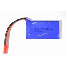 3.7v 780mAh Lipo Battery for RC Helicopter Quadcopter Car Boat