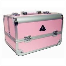 GLADKING Fashion Makeup Cosmetic Case Aluminum Box Bag  MKB33775