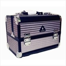 GLADKING Fashion Makeup Cosmetic Case Aluminum Box Bag  MKB25447