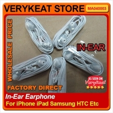In-Ear Earphone with Mic for iPhone 3G/3GS/4/4S/5/iPad