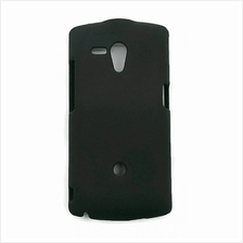 Sony Xperia Neo L Back Cover Case Black Color