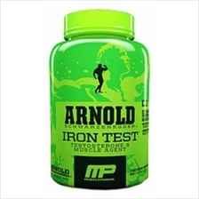 Arnold Iron Test and Nitrix Oxide Booster ( Muscle,Urat Pump )90 caps