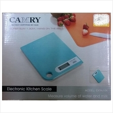 Camry Blue Kitchen Scale RM70