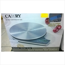 Camry Stainless Steel Kitchen Scale RM90