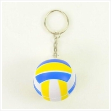 Fashion Cool key chain novelty sports ball keychain volley rugby ball