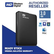 Western Digital Elements 500GB 750GB 1TB 2TB USB3.0 External Hard Disk
