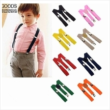 Kids Elastic Clip-On Y Suspenders with Adjustable Braces for Children