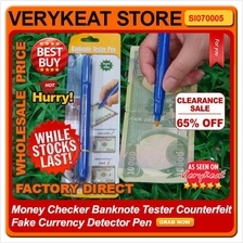 Fake Money Checker Banknote Tester Counterfeit Currency Detector Pen