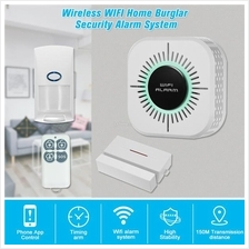 Wireless Home Burglar Security Alarm System 1 Set RF 433Mhz