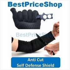 Combo S Defence Anti Cut Arm Shield 1pc + Cut Resistant Glove 1 pair