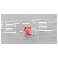 Red Hybrid Flow POM Acrylic Drip Tip / e-cigarette ecig mechanical mod