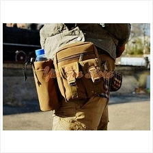 Tactical Outdoor Sport Waist Bag with Water Bottle Pocket