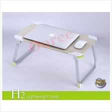 XGear H2L Foldable Portable Notebook Laptop Dining Desk Bed Table Stan