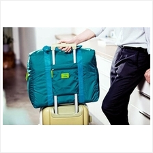 Korean M Square Travel Foldable Luggage Bag Nylon Water-Resistant