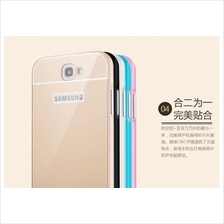 Samsung S3 S4 Mega Note 2 3 Neo 4 5 SLIM Metal Bumper Back Case Cover