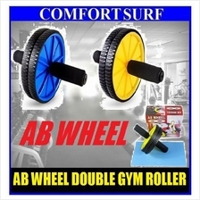 Ab Wheel Double Gym Roller Total Body Revoflex Exercise