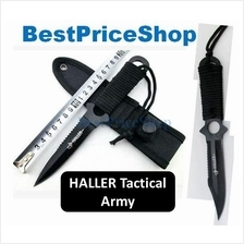 Tactical Haller Army Throw Knife Survival Dart Hiking Camping Defence