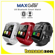 MAXGear U8 UWatch Touch Screen Bluetooth Smart Watch Android iOS Phone