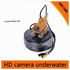 20M / 30M Cable Underwater Fishing Color Video 600TVL SONY CCD Camera