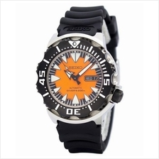 SEIKO AUTOMATIC SRP315J1 SRP315 DIVER 200M RUBBER ORANGE MENS WATCH