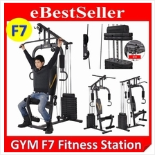 F7 Luxury MultiFunction Home Gym Station Fitness Workout Press Machine