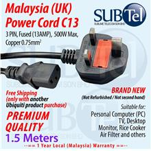 UK Malaysia C13 Power Cord - FreeShipping with Other Purchase