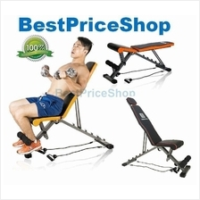 Top Specs Adjustable Dumbbell Sit Up Weightlifting Situp Bench MK-010D