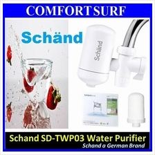 Schand Faucet Tap Water Purifier 4 Level Filter Kitchen Home Office