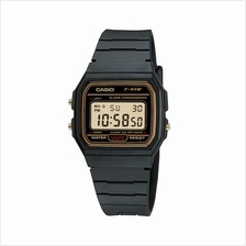 CASIO F-91WG-9 STANDARD 'Forever Historic Icon' resin strap black gold