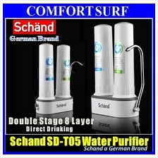Sch�nd Double Stage 8 Layer Direct Drinking Water Filter Purifier