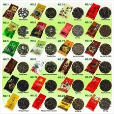 35 Different Flavors Famous Tea Chinese. Including Puer, Long Jing etc