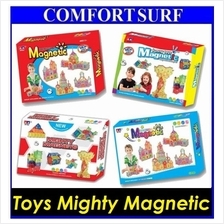 Toys Mighty Magnetic Building Set blocks Construction Creative Kids