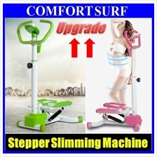Upgraded 3D Twister Swing Stepper Machine with handle LCD GYM Fitnesss