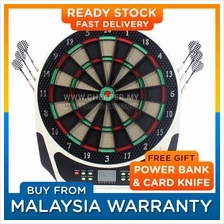 Professional Electronic Dart Board Set 18' Darts 159 Games 16 Players