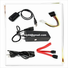 External SATA / IDE Drive to USB 2.0 Converter Cable for 2.5' 3.5' HDD