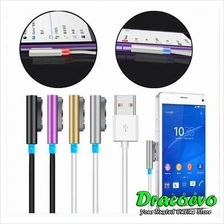 Sony Xperia Z Z1 Z2 Z3 Compact XL39H USB Magnetic LED Charging Cable