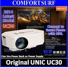 HX868-TV LED projector Upto 100' 500 Lumens /w TV Tuner 2X HDMI