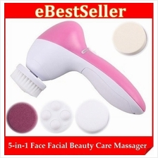 5-in-1 Face Facial Skin Body Beauty Whitening Care Pobling Cleaner