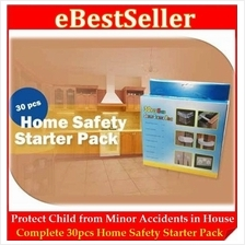 30pcs Kids Home Table Angle Safety Starter Pack Protect Child Danger